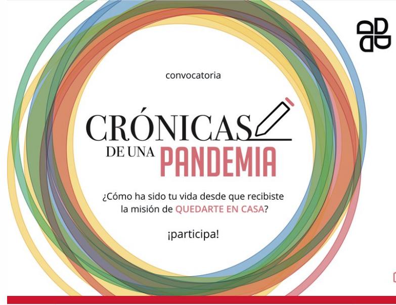 Entrale a este concurso de crónicas sobre la pandemia